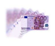 500 Euro Stock Photography