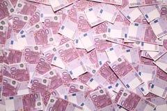 500 euro background. The 500 euro background souvenir Royalty Free Stock Image
