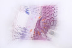 500 euro banknotes (vortex) Stock Photography