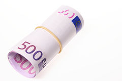 500 euro factures Photographie stock libre de droits
