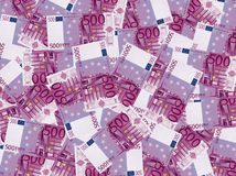 500 euro money. A lot of 500 euro money in a big picture royalty free stock images