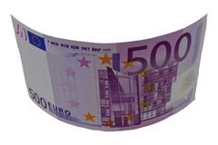 500 euros Images stock