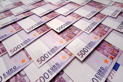 500 Euros background Royalty Free Stock Photo