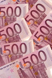 500 euros, five hundred Royalty Free Stock Photos