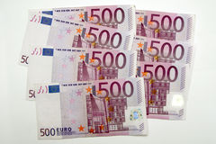 500 euros, five hundred Stock Images