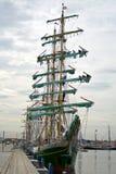 500 högväxt år för funchal regattaships Arkivfoton