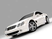 500 Mercedes SL Στοκ Εικόνα