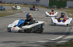 500 miles of Battle / Palexpo CPRTP 2009 of  Kart. BATALHA, PORTUGAL - MAY 30:  Teams participating in the 500 miles of Battle / Palexpo CPRTP 2009 of Batalha on Royalty Free Stock Photos