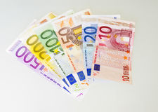 500 rachunków euro Zdjęcia Stock