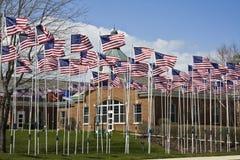 500 vlaggen Royalty-vrije Stock Afbeeldingen