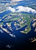 5000 acima da terra do planeta Imagem de Stock Royalty Free