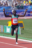 5000 metres men winner kenya2 Stock Photos