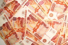 5000 roubles Photographie stock