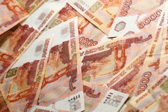 5000 rublos Fotografia de Stock Royalty Free