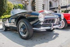 507 1957 bmw-roadster Arkivfoto