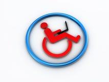508可及性残疾部分 免版税图库摄影