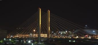 509 Cable-permanecen el puente Fotos de archivo libres de regalías