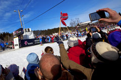 50km Ski World Championship 2011 Oslo Royalty Free Stock Photos