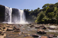 The 50m high Kama falls Royalty Free Stock Photos
