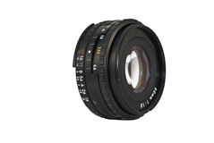 50mm Camera Lens Royalty Free Stock Image