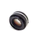 50mm kameralins Arkivfoton
