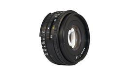 50mm Kameraobjektiv Lizenzfreies Stockbild