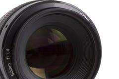50mm SLR obiektyw 3 obrazy stock