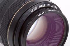 50mm SLR obiektyw obraz stock