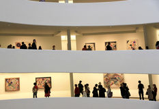 50th Anniversary of Guggenheim Museum Stock Photos