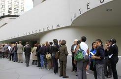 50th Anniversary of Guggenheim Museum Stock Photo