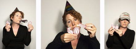 50th Birthday Stock Images