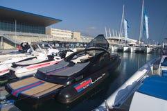 50th edição da mostra dos barcos de Genoa, Italy Imagens de Stock
