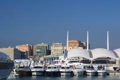 50th edição da mostra dos barcos de Genoa, Italy Imagem de Stock Royalty Free