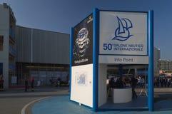 50th edição da mostra dos barcos de Genoa, Italy Fotografia de Stock