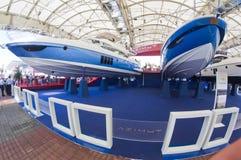 50th edição da mostra dos barcos em Genoa Foto de Stock