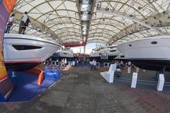 a 50th edição dos barcos mostra em Genoa Imagens de Stock