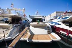 a 50th edição dos barcos mostra em Genoa Imagem de Stock Royalty Free