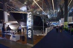 a 50th edição dos barcos mostra em Genoa Foto de Stock Royalty Free