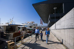 50th edition of the Boats show in Genoa Stock Photography