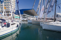 50th edition of the Boats show in Genoa Stock Image