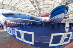 50th edition of the Boats show in Genoa Stock Photo