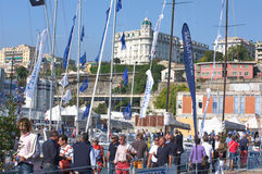 50th edition of the Boats show of Genoa, Italy Royalty Free Stock Image
