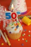 50th födelsedag Arkivbild