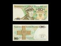 50zl banknot Fotografia Royalty Free