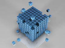512 bits of code Stock Images