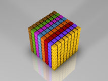 512 bits van code Stock Afbeeldingen