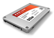 512GB solid state drive (SSD) Stock Images