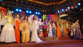 The 51st miss international beauty pageant. 2011 Chengdu China royalty free stock photos