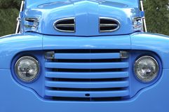 52蓝色格栅装货 免版税库存照片