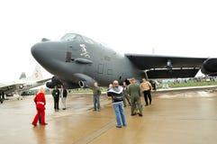 52 amerikanska b-bombplanstratofortress Royaltyfri Foto